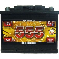 555 12v 60Ah EN540A R+ / Аккумулятор