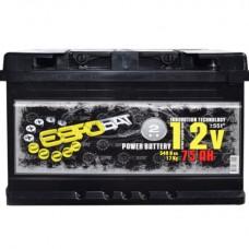 ЕВРОБАТ 12v 75Ah EN540A R+ / Аккумулятор
