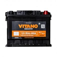 VITANO VB60 12v 60Ah EN600A R+ / Аккумулятор