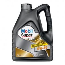 Mobil Super 3000 5w40 4L / Синтетическое моторное масло