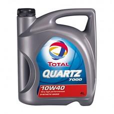 Полусинтетическое моторное масло TOTAL Quartz 7000 10W-40 4L