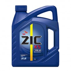 ZIC X5 10W-40 4L  / Полусинтетическое моторное масло