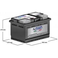 VIPIEMME B652C NN PH  12V 6СТ-60 Ah R+ EN500 / Аккумулятор