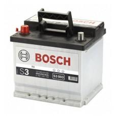 BOSCH S3003 12v 45Ah EN400A L+ / Аккумулятор