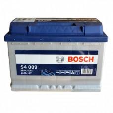 BOSCH S4009 12v 74Ah EN680A L+ / Аккумулятор