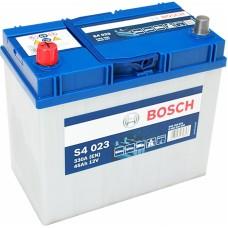 BOSCH S4023 12v 45Ah EN330A L+ (Asia) / Аккумулятор
