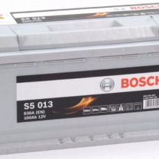BOSCH S5013 12v 100Ah EN830A R+ / Аккумулятор