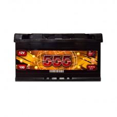 555 12v 100Ah EN850A R+ / Аккумулятор