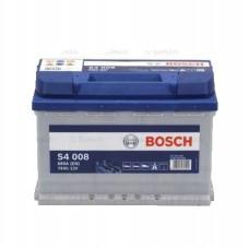 BOSCH S4008 12v 74Ah EN680A R+ / Аккумулятор