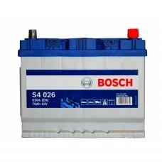 BOSCH S4026 12v 70Ah EN630A R+ (Asia) / Аккумулятор