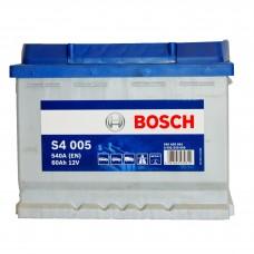 BOSCH S4005 12v 60Ah EN540A R+ / Аккумулятор