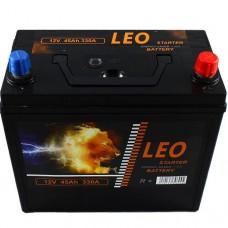 LEO 12v 45Ah EN330A R+ (ASIA) / Аккумулятор