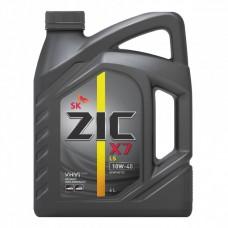ZIC X7 LS 10W-40 4L Полусинтетическое моторное масло