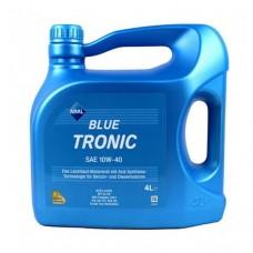 ARAL Blue Tronic 10W-40 4л Полусинтетическое моторное масло