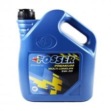 Синтетическое моторное масло FOSSER Premium Multi Longlife 5w30 4 л