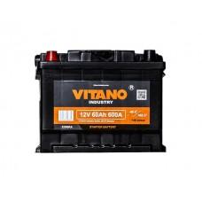 VITANO VB60 12v 60Ah EN600A L+  Аккумулятор