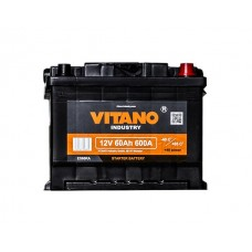 VITANO VB60 12v 60Ah EN600A R+ Аккумулятор