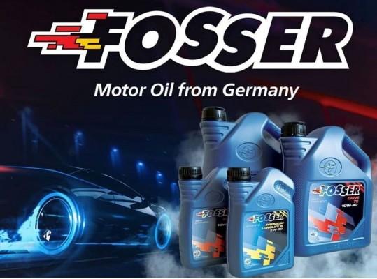 """Моторное масло FOSSER """"Сделано в Германии"""""""