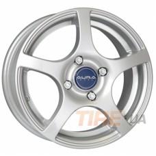 КиК Салют 6,5x15 5x100 ET45 DIA67,1 (silver)