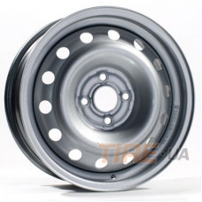 Steel Malata 6x15 4x100 ET45 DIA54,1 (silver)
