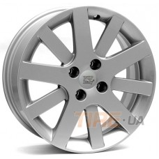 WSP Italy Peugeot (W850) Lyon 7x17 4x108 ET28 DIA65,1 (silver)