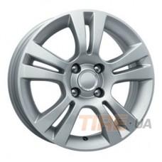 КиК Корса 6x15 4x100 ET39 DIA56,6 (silver)