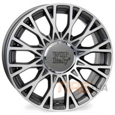 WSP Italy Fiat (W162) Grase 6x15 4x98 ET35 DIA58,1 (anthracite polished)