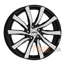 Aez Reef 7,5x17 5x108 ET45 DIA70,1 (matt black polished)