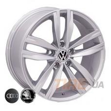 Allante 5037 7x16 5x112 ET45 DIA57,1 (silver)