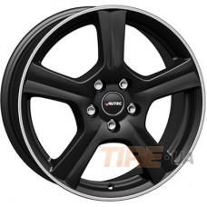 Autec Ionik 6x16 4x100 ET45 DIA54,1 (matt black polished)