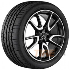 Mercedes OEM A2134014000 8x20 5x112 ET20 DIA66,6 (BKF)