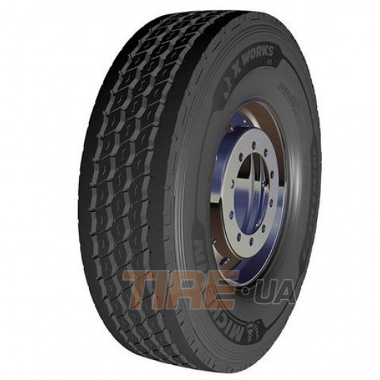 Шины Michelin X Works HD Z (рулевая)