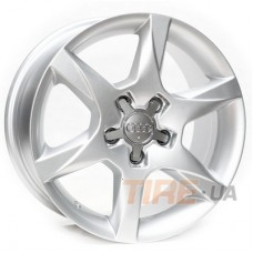 Replica AUDI R166 7,5x16 5x112 ET45 DIA57,1 (silver)