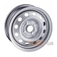 Steel SDT 6x16 4x100 ET52 DIA54,1 (silver)