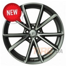 WSP Italy Audi (W569) Aiace 8x19 5x112 ET26 DIA66,6 (anthracite polished)