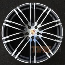 WSP Italy Porsche (W1057) Tokyo 10x21 5x112 ET19 DIA66,6 (anthracite polished)