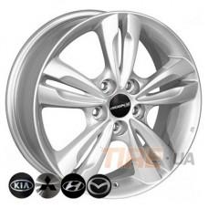 ZF TL0280NW 6,5x17 5x114,3 ET48 DIA67,1 (silver)