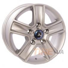 ZW BK473 6,5x16 5x130 ET55 DIA89,1 (silver)