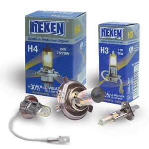 Каталог 2112ALLW H1 12V 55W All WEATHER +30% / Лампочки hEXEN / 41736
