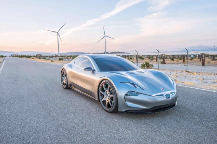 Pirelli разработает шины для люксового электромобиля от Fisker