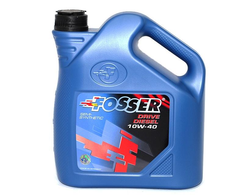 Полусинтетическое моторное масло Фоссер