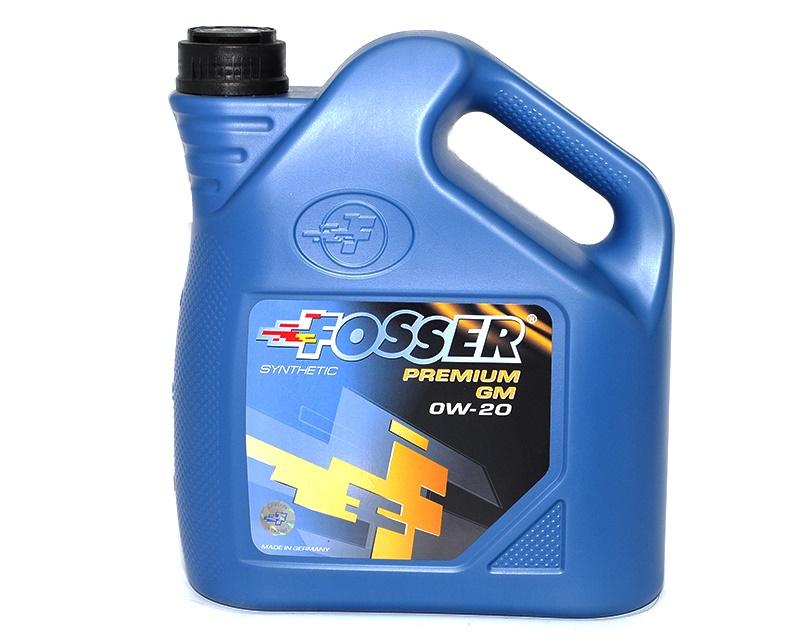 Синтетическое моторное масло Фоссер