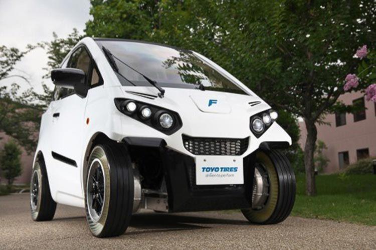 Toyo презентовала безвоздушные шины noair
